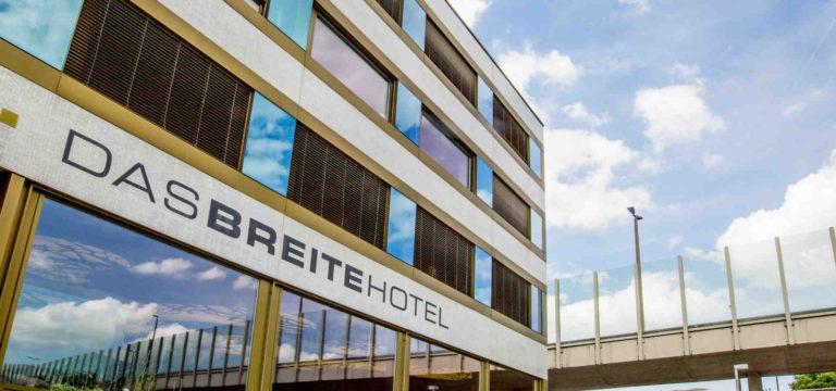Fassade Hotel in Basel