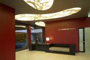 Reception at DASBREITEHOTEL Basel