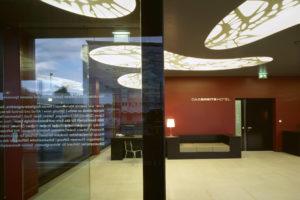 Designhotel in Basel: Die Lobby
