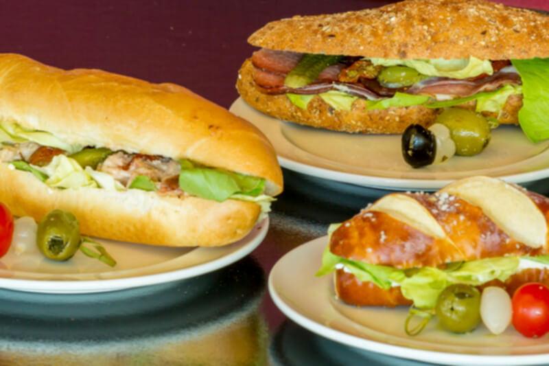 Frische Sandwiches