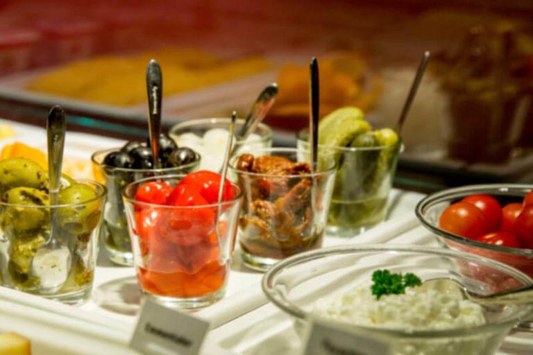Hotelfrühstück - Antipasti