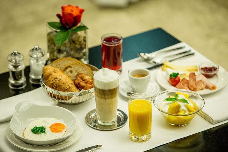 Hotelfrühstück - Eierspeisen